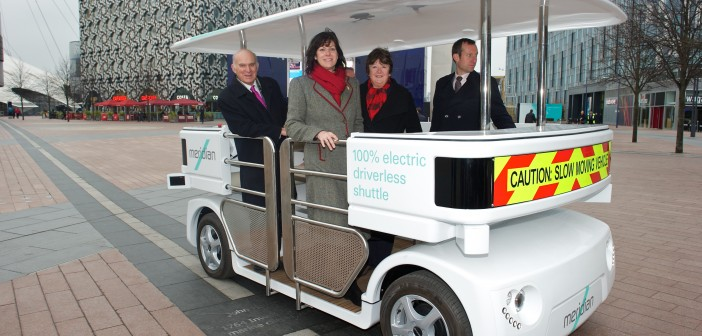 First trials of driverless vehicles get underway in Royal Borough of Greenwich