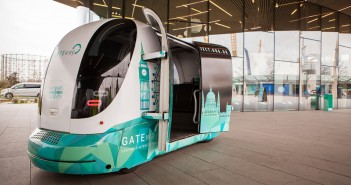 Self-driving shuttles may show way to smart cities