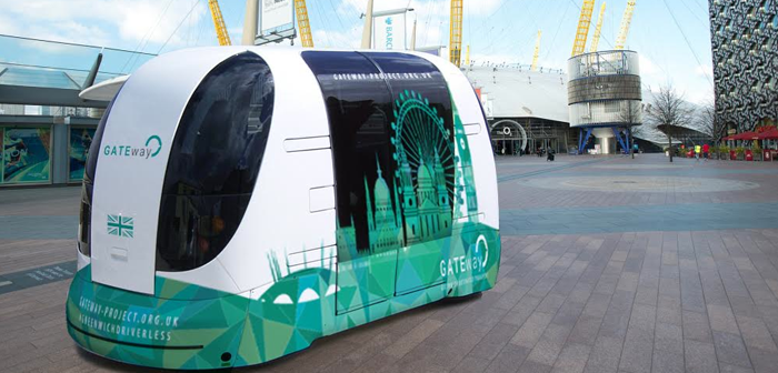 Forward Thinking Award from Intelligence Transport Systems for UK Smart Mobility Living Lab