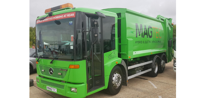electric refuse vehicle